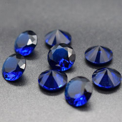 玻璃仿天然蓝宝石